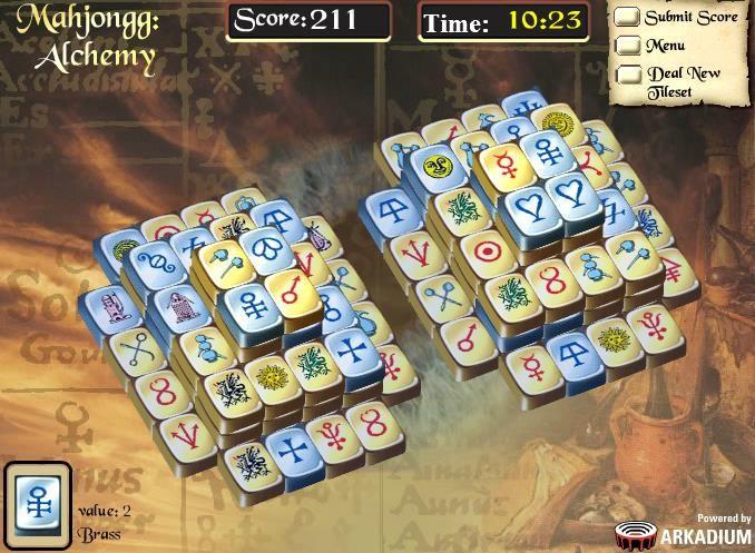 free mahjong alchemy